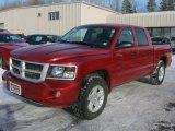 2010 Inferno Red Crystal Pearl Dodge Dakota Big Horn Crew Cab 4x4 #45105014
