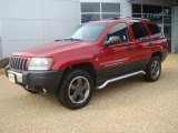 2004 Jeep Grand Cherokee Inferno Red Pearl