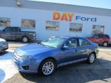 2010 Sport Blue Metallic Ford Fusion SEL V6 #45103579