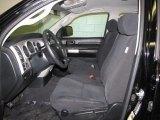 2008 Toyota Tundra Double Cab 4x4 Black Interior