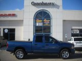 2005 Atlantic Blue Pearl Dodge Ram 1500 SLT Quad Cab 4x4 #45103662