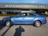 2010 Sport Blue Metallic Ford Fusion SEL V6 AWD #45168426