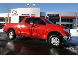 2010 Radiant Red Toyota Tundra Double Cab 4x4 #45167142