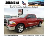 2009 Inferno Red Crystal Pearl Dodge Ram 1500 ST Quad Cab #45168238