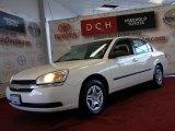 2005 White Chevrolet Malibu Sedan #45169474