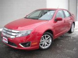 2011 Red Candy Metallic Ford Fusion SEL V6 #45167463