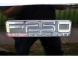 2000 Ford F250 Super Duty Lariat Extended Cab 4x4 Marks and Logos