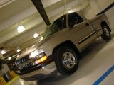2000 Light Pewter Metallic Chevrolet Silverado 1500 LS Regular Cab #45168288