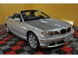 2005 Titanium Silver Metallic BMW 3 Series 325i Convertible #45168744