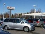 2011 Silver Sky Metallic Toyota Sienna XLE #45168315