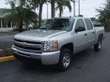 Sheer Silver Metallic Chevrolet Silverado 1500 in 2011