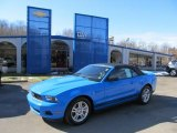 2011 Grabber Blue Ford Mustang V6 Convertible #45168107