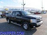 2007 Black Chevrolet Silverado 1500 LT Extended Cab 4x4 #45169539
