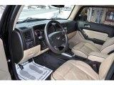 2009 Hummer H3 T Alpha Ebony/Light Cashmere Interior