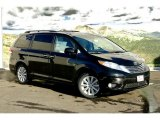 2011 Black Toyota Sienna Limited AWD #45228940