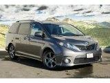 2011 Predawn Gray Mica Toyota Sienna SE #45228956