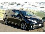 2011 Black Toyota Sienna SE #45228957