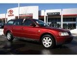 2000 Colorado Red Metallic Volkswagen Passat GLS V6 Wagon #45228971