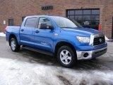 2007 Blue Streak Metallic Toyota Tundra SR5 CrewMax 4x4 #45228991