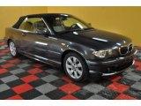 2005 Sparkling Graphite Metallic BMW 3 Series 325i Convertible #45230426