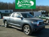 2008 Slate Gray Metallic Toyota Tundra Limited Double Cab 4x4 #45231192