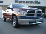 2011 Deep Cherry Red Crystal Pearl Dodge Ram 1500 ST Quad Cab #45230438
