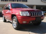 2002 Inferno Red Tinted Pearlcoat Jeep Grand Cherokee Overland 4x4 #45230439