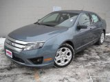 2011 Steel Blue Metallic Ford Fusion SE #45229277