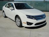 2011 White Suede Ford Fusion SE #45230068