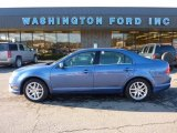 2010 Sport Blue Metallic Ford Fusion SEL V6 AWD #45230137
