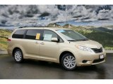 2011 Sandy Beach Metallic Toyota Sienna LE AWD #45265664