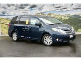 2011 South Pacific Blue Pearl Toyota Sienna Limited #45265667