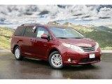 2011 Salsa Red Pearl Toyota Sienna XLE #45265668