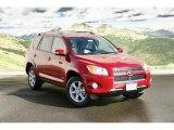 2011 Barcelona Red Metallic Toyota RAV4 Limited 4WD #45265670
