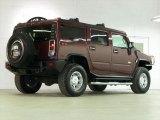 2007 Hummer H2 Twilight Maroon Metallic