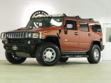 2003 Sunset Orange Metallic Hummer H2 SUV #45267623