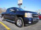 2011 Imperial Blue Metallic Chevrolet Silverado 1500 LT Crew Cab #45281558
