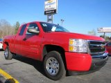 2011 Victory Red Chevrolet Silverado 1500 LS Extended Cab #45281561