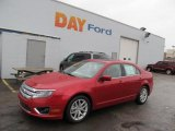 2010 Sangria Red Metallic Ford Fusion SEL V6 #45281323