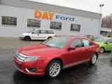 2010 Sangria Red Metallic Ford Fusion SEL V6 #45281324