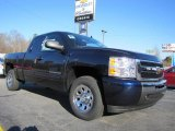2011 Imperial Blue Metallic Chevrolet Silverado 1500 LS Extended Cab #45281566