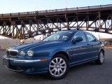 2002 Jaguar X-Type Pacific Blue Metallic