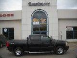 2009 Black Chevrolet Silverado 1500 LS Crew Cab 4x4 #45281402
