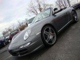 Meteor Grey Metallic Porsche 911 in 2007