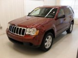 2008 Red Rock Crystal Pearl Jeep Grand Cherokee Laredo #45282091