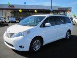 2011 Super White Toyota Sienna XLE #45281642