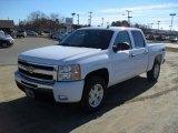 2011 Summit White Chevrolet Silverado 1500 LT Crew Cab #45282107