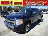 2010 Black Chevrolet Silverado 1500 LT Crew Cab #45282121
