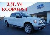 2011 Oxford White Ford F150 Lariat SuperCrew 4x4 #45281434