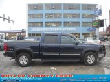 2005 Dark Blue Metallic Chevrolet Silverado 1500 Z71 Crew Cab 4x4 #45281437
